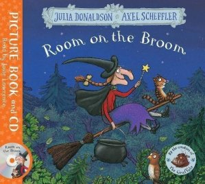 ROOM ON THE BROOM + CD - MACMILLAN - 9781509815197 -