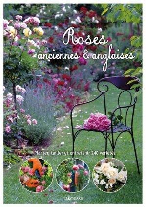 Roses anglaises et anciennes - larousse - 9782035902917 -