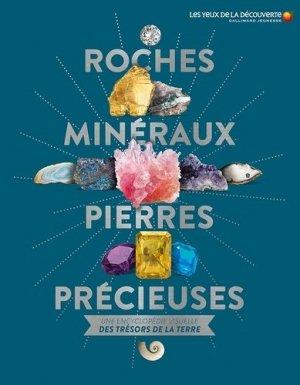 Roches, minéraux & pierres précieuses - gallimard - 9782075122443 -
