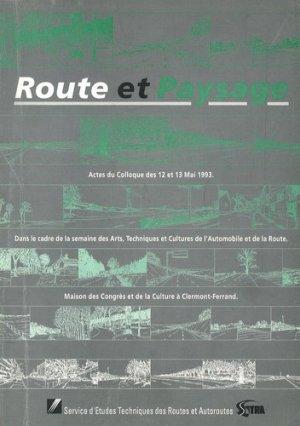 Route et Paysage - La Documentation Française - 9782110857347 -