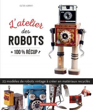 Robots Art - dessain et tolra - 9782295008008