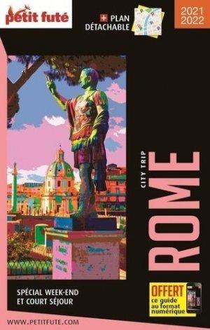 Petit Futé Rome - nouvelles éditions de l'université petit futé - 9782305033358 -