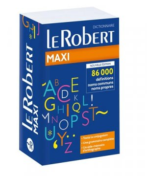 Le Robert maxi - Le Robert - 9782321010548 -