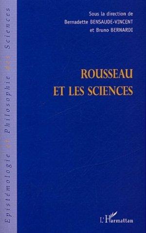 Rousseau et les sciences - l'harmattan - 9782747551007 -