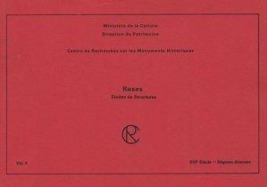 Roses Études de Structures Volume 2 - patrimoine ( éditions du ) - 9782858225033 -
