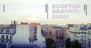 Rooftop graffiti Paris - H'Artpon - 9791095208013 -