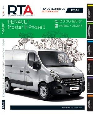 RTA B797 Renault Master III 2.3 dCi de 04/2010 à 05/2014 - etai - editions techniques pour l'automobile et l'industrie - 9782726879757 -