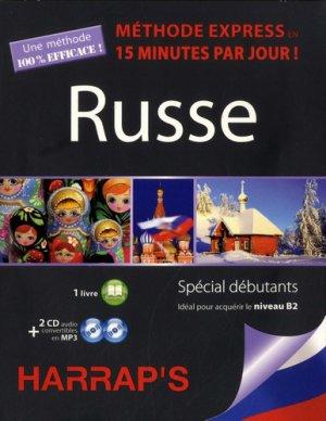 Russe, méthode express en 15 minutes par jour ! - Harrap's - 9782818705865 -