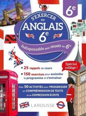 S'exercer en anglais 6e - Larousse - 9782036003576 -
