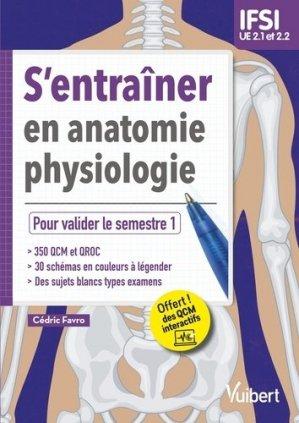 S'entraîner en anatomie-physiologie - UE 2.1 et 2.2 - vuibert - 9782311661415 -