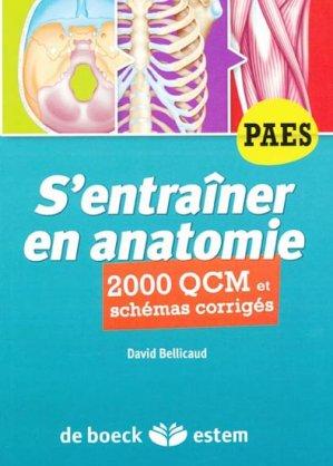 S'entraîner en anatomie - estem - 9782843714634 -