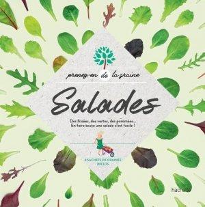 Salades - hachette - 9782017040934 -