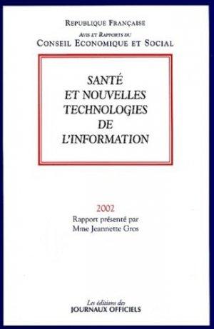 Santé et nouvelles technologies de l'information - La Documentation Française - 9782110925510 -