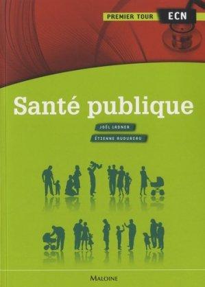 Santé publique - maloine - 9782224031374 -