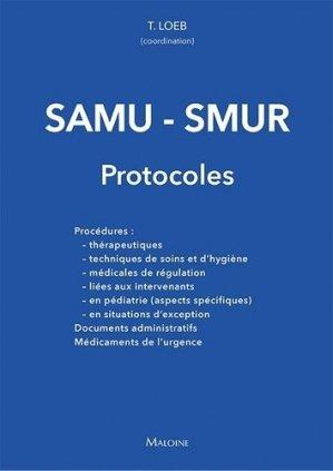 SAMU - SMUR - maloine - 9782224035785 -