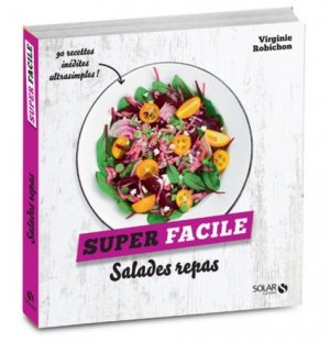 Salades repas - solar - 9782263151019 -