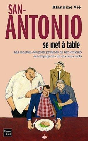 San-Antonio se met à table - Fleuve Noir - 9782265094703 -