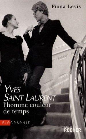 Saint Laurent, l'homme couleur de temps - du rocher - 9782268065335 -