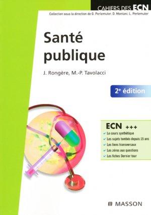 Santé publique - elsevier / masson - 9782294707025 -