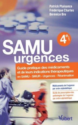 Samu urgences - vuibert - 9782311660012 -