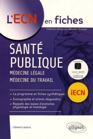 Santé publique - ellipses - 9782340008632 -