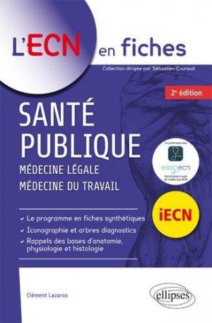 Santé publique - ellipses - 9782340012646 -