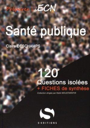Santé publique - s editions - 9782356401427 -