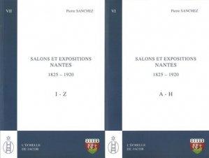 Salons et expositions Nantes (1825-1920) - L'échelle de Jacob - 9782359680638 -