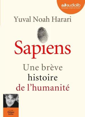 Sapiens - Une brève histoire de l'humanité - audiolib - 9782367624051 -
