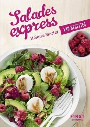 Salades express. 140 recettes - first editions - 9782412037188 -
