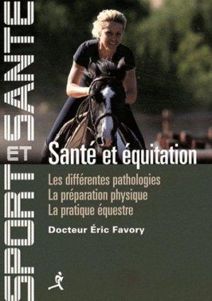 Santé et équitation - chiron - 9782702713433 -
