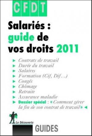 Salariés : guide de vos droits 2011 - la decouverte  - 9782707165077 -