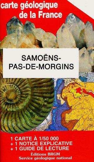 Samoens Pas de Morgins - brgm - 9782715916555 -