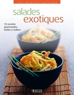 Salades exotiques - Glénat - 9782723489140 -