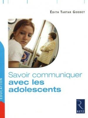 Savoir communiquer avec les adolescents - Retz - 9782725625997 -