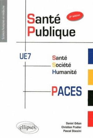 Santé publique UE7 - ellipses - 9782729887728 -
