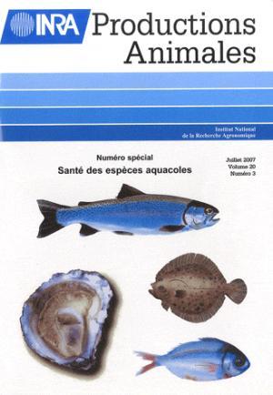 Santé des espèces aquacoles - inra  - 9782738012470 -