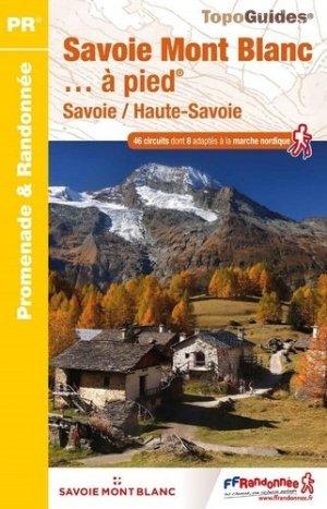 Savoie Mont Blanc à pied - ffrp - 9782751409967 -