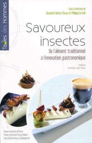 Savoureux insectes - presses universitaires de rennes - 9782753551428 -