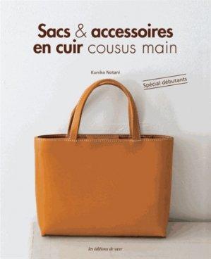 Sacs & accessoires en cuir cousus main - de saxe  - 9782756524429 -