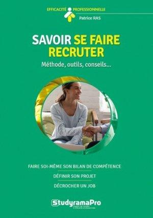 Savoir se faire recruter - Studyrama - 9782759042289 -