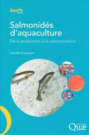 Salmonidés d'aquaculture - quae  - 9782759200061 -