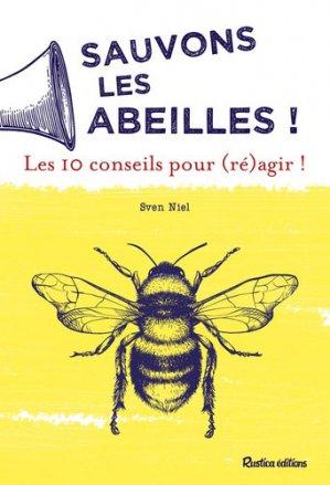 Sauvons les abeilles - rustica - 9782815313001 -
