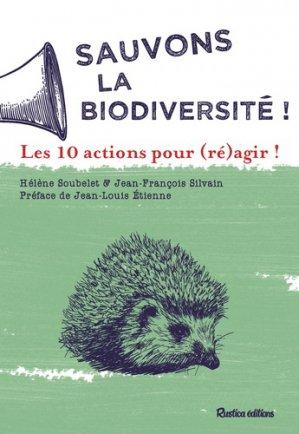 Sauvons la biodiversité ! - rustica - 9782815314107 -