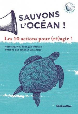 Sauvons l'océan ! - Rustica - 9782815314763 -