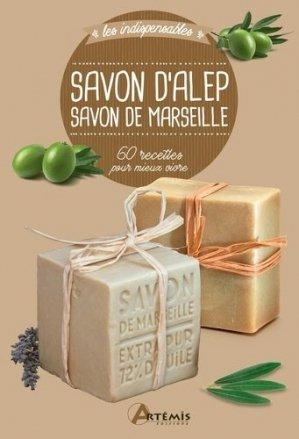 Savon d'Alep, savon de Marseille - artémis - 9782816016185 -