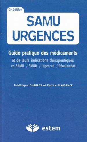 Samu urgences - estem - 9782843713835 -