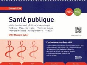 Santé publique - med-line - 9782846781374 -