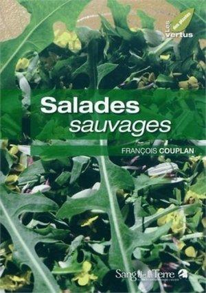 Salades sauvages - Sang de la Terre - 9782869852631 -