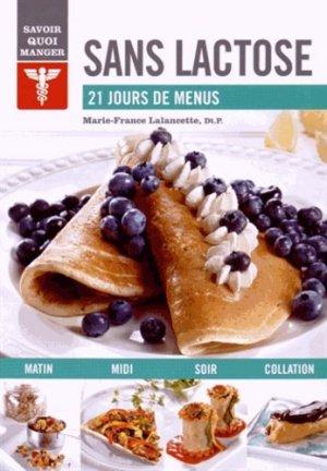 Sans lactose - modus vivendi (canada) - 9782895238638 -